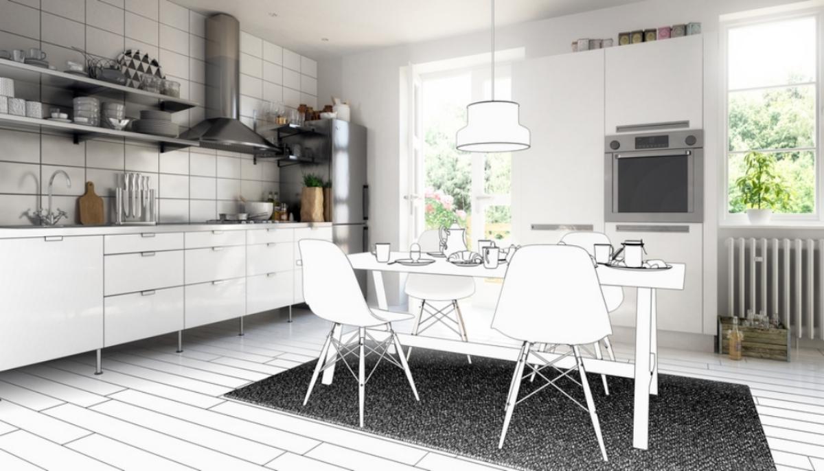 tipps beim umzug mit einer einbauk che moderne k che magazin. Black Bedroom Furniture Sets. Home Design Ideas