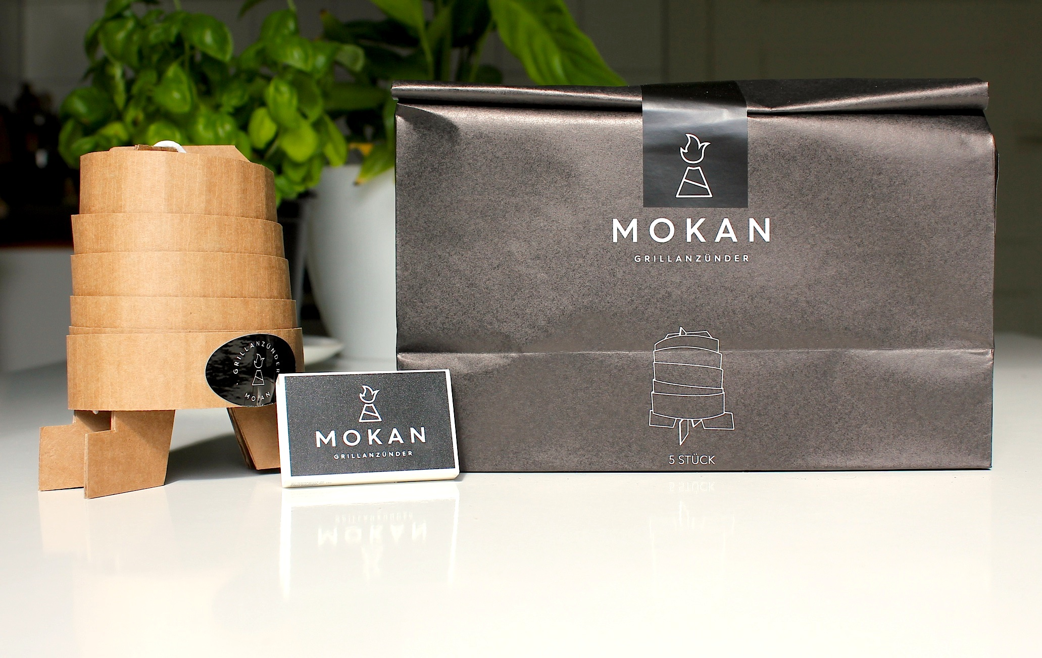 Unser Favorit: Der innovative Mokan® Grillkamin